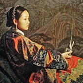JIANG GUO FANG - Oil Paintings from the FORBIDDEN CITY Series
